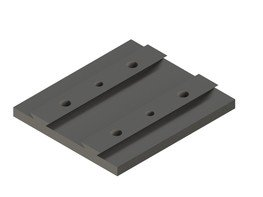 linea m mounting plate basic SET